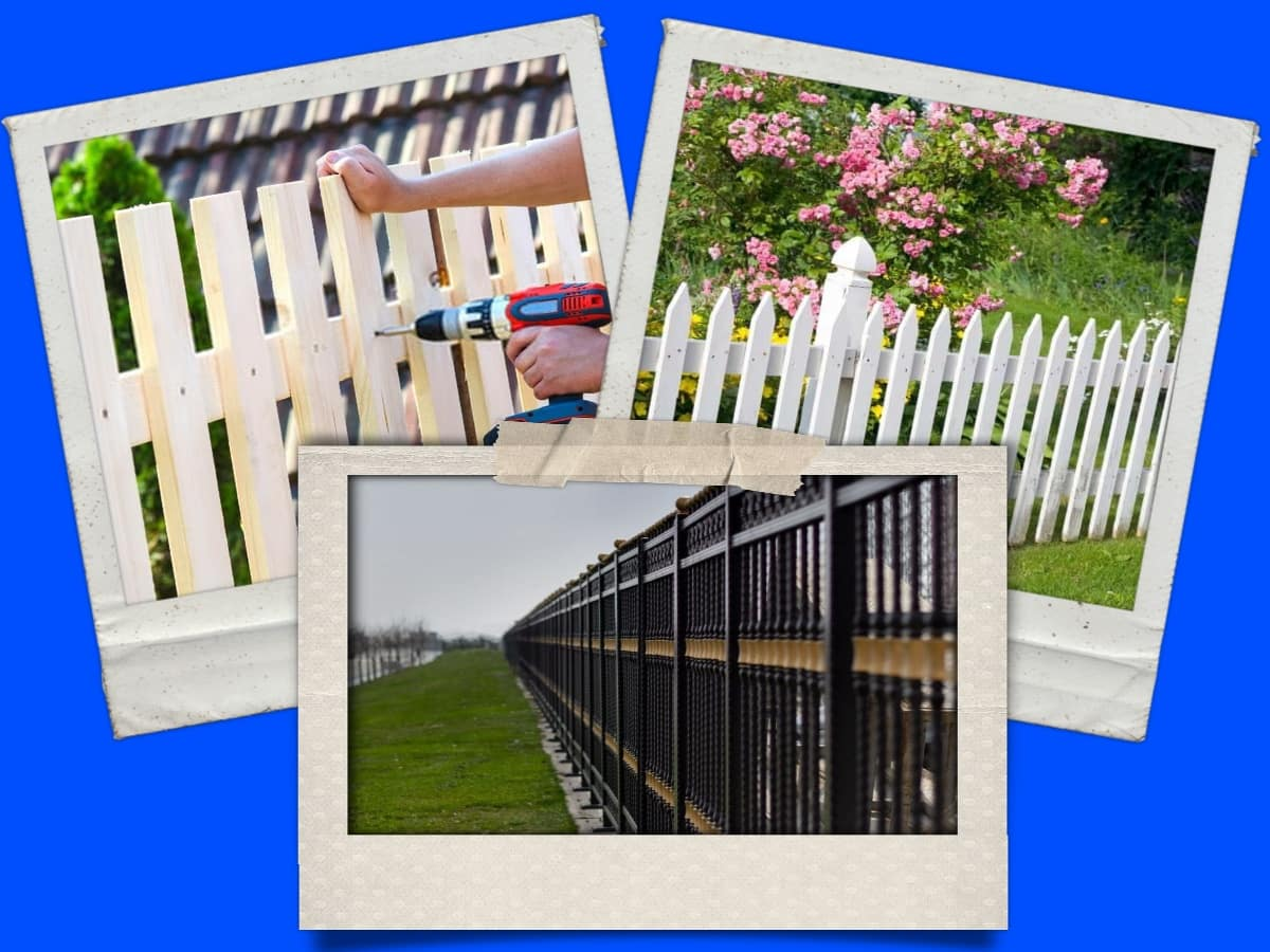 Prime Fence Contractor Collage
